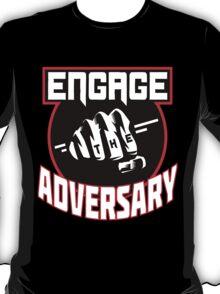 Engage the Adversary Band Logo T-Shirt