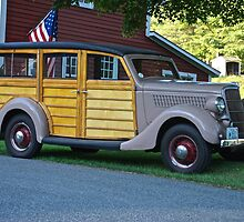 1935 Ford Stationwagon by Peter Martsolf