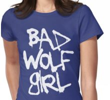 Bad Wolf Girl, I Could Kiss You! Womens Fitted T-Shirt