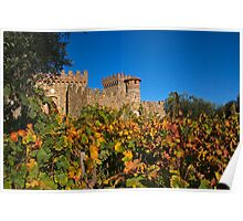 Fall at the Winery Poster