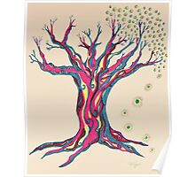 Standing Strong Serenity Tree Poster