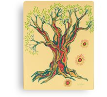 Glowing Brighter in Serenity Tree Canvas Print