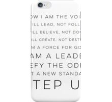 NOW I AM THE VOICE  iPhone Case/Skin