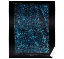 USGS Topo Map  Vermont VT Rochester 338133 1915 62500 Inverted Poster