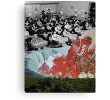 Feed them not teach them - A Critique of the American Educational System (Triptych) by Zabu Stewart Canvas Print