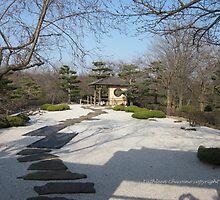 Japanese Garden-1 by Kathie  Chicoine