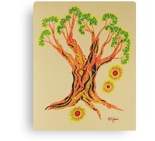 Shining in Serenity Tree Canvas Print