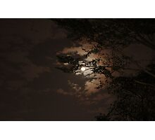 Autumn Moon Photographic Print