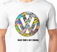 Drop Dub's not bombs Unisex T-Shirt