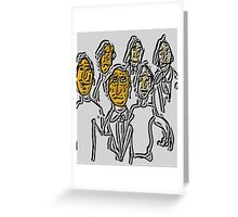 Constitutional Committee Greeting Card