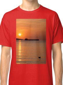 Paper ship vs. iron ship Classic T-Shirt