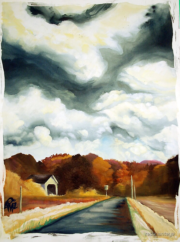 overcast in oregon. by resonanteye