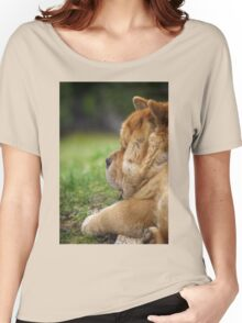 Chow-Chow dog portrait Women's Relaxed Fit T-Shirt