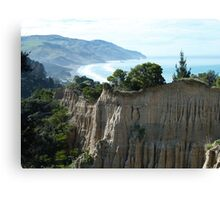 Cathedral Cliffs, Gore Bay Canvas Print
