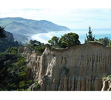 Cathedral Cliffs, Gore Bay Photographic Print