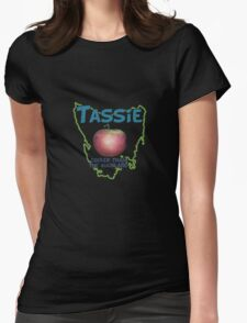 Tassie - Cooler than the Mainland Womens Fitted T-Shirt