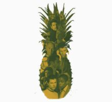 Pineapple Outline Psych Cast by SarahJane221B