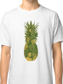Pineapple Outline Psych Cast Classic T-Shirt