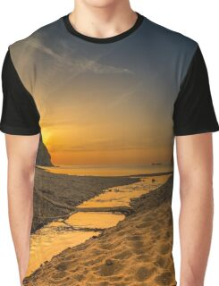 Bridge from a tree across river Graphic T-Shirt