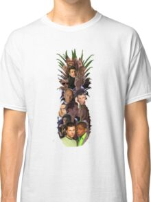 Pineapple Outline Psych Cast w/o Gradient Classic T-Shirt