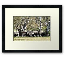 Old Bridge - out of action Framed Print