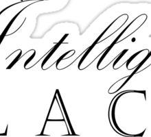 One Hundred Percent Intelligent Black Child (BoW) Sticker