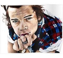 Harry Styles- One Direction Sketch Poster