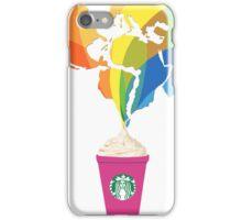 Starbucks Pop Art  iPhone Case/Skin