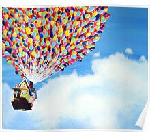 """Up"" Disney Painting Poster"