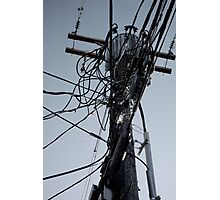 the wires next time. Photographic Print