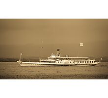 Steamboat Photographic Print