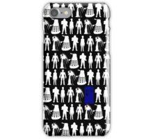 The Tardis amongst enemies iPhone Case/Skin