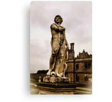 Statue at Kirby Hall Canvas Print