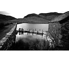 Fishing Hut Photographic Print