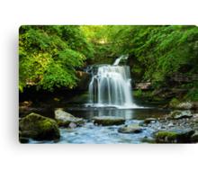 West Burton Waterfall Canvas Print