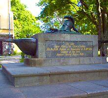 Cenotaph of Augustin Ehrensvärd, Suomenlinna, Helsinki by boogeyman