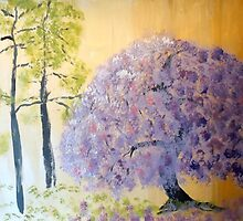 Shining Wisteria Tree by Eliza Donovan