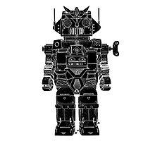 Robot Toy Photographic Print