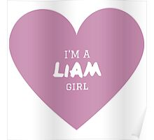 Liam Girl ( One Direction ) Poster