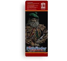 THE PATHFINDER - FAUX THEATRE POSTER Canvas Print