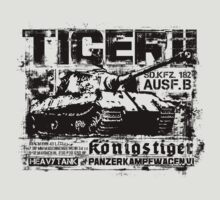 Tiger II by deathdagger