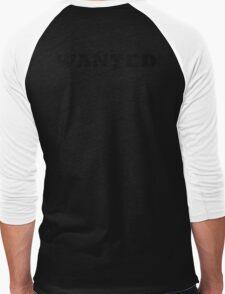 WANTED COOL RETRO DESIGN Men's Baseball ¾ T-Shirt