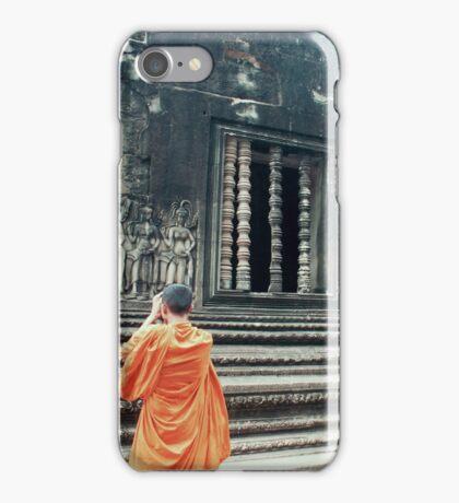 Monk @ Angkor Wat iPhone Case/Skin