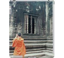 Monk @ Angkor Wat iPad Case/Skin