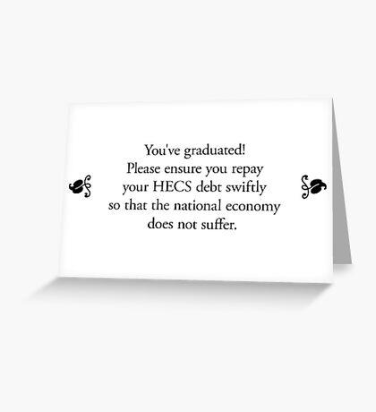 Boomer Cards - Graduation Greeting Card
