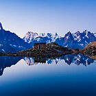 Lac Blanc Panorama by MIRCEA COSTINA