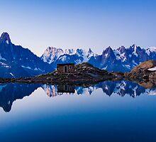 Lac Blanc Panorama by MIRCEA COSTINA