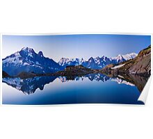 Lac Blanc Panorama Poster