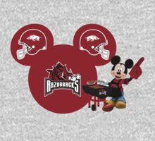 Mickey Mouse Arkansas Razorbacks Fan by sweetsisters
