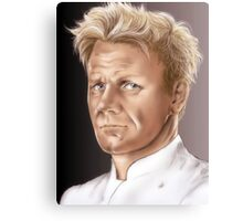 Gordon Ramsay - Hell's Kitchen Canvas Print